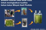 Mahasiswa UB Malang kembangkan bahan bakar dari limbah plastik