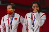 China dominasi medali bulu tangkis Olimpiade Tokyo 2020