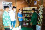 Mahasiswa KKN UIN Raden Intan Lampung gagas lamban juang literasi di Pekon Walur