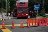 Blokade Jalan menuju Parlemen Malaysia