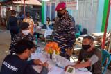Serbuan Vaksinasi Lantamal VIII jangkau masyarakat di Pulau Nain