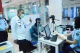 Imigrasi Sulsel perketat protkes pencegahan COVID-19 dalam pelayanan paspor