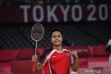 Ginting  luapkan kegembiraan bawa pulang medali dari Olimpiade perdana