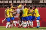 Brazil melaju ke final Olimpiade usai menang atas Meksiko lewat adu penalti
