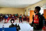 Satgas TNI Yonif 512 edukasi pencegahan COVID-19 warga di perbatasan