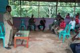 Babinsa hadiri musyawarah kampung Waropko
