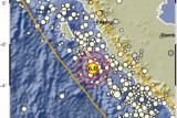 Gempa bermagnitudo 6,0 guncang barat daya Mukomuko, Bengkulu