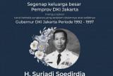 Anies Baswedan doakan mantan Gubernur DKI Surjadi Soedirdja