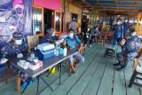 TNI AL laksanakan Serbuan Vaksinasi di Pulau Manado Tua