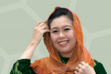 Heboh bantuan Rp2 triliun, apa pendapat Yenni Wahid ?
