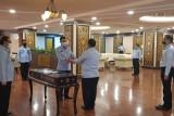 Jabatan Plt Kakanwil Kemenkumham Lampung diserahterimakan