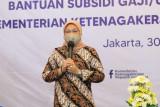 Menaker: Bantuan subsidi upah tahun 2021 berbeda dengan tahun lalu