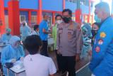 BEM Nusantara Sulut-Polda gelar vaksinasi bagi mahasiswa dan warga
