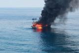 Satu ABK tewas dalam kebakaran kapal nelayan di Perairan Pulau Berhala Sumut