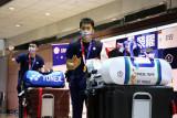 Jet tempur mengawal kepulangan tim bulu tangkis Taiwan