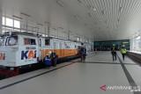 Pekerjaan peron Stasiun Bandara YIA capai 96 persen