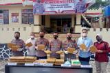 Polisi sita ganja 28 kilogram di Pelabuhan Bakauheni