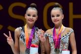 Si kembar, Bintang senam ritmik Rusia puncaki final Olimpiade Tokyo 2020