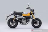 Honda Monkey dengan tampilan lebih segar dengan warna baru