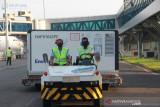 594.200 dosis vaksin AstraZeneca tiba di Indonesia