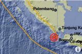 Warga Tenggamus berlari ke luar rumah saat gempa magnitudo 5,5