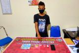 Miliki 3 poket sabu, pria asal Sekongkang KSB diringkus polisi di kos-kosannya
