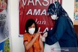 883 nakes di Gumas ditargetkan terima vaksin dosis ketiga