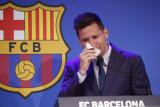 Ucapan perpisahan Messi pada Barcelona