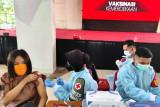 Menko Airlangga: Penerima vaksin lengkap 11,3 persen dari target