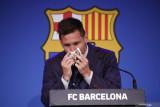 Lionel Messi akhirnya ucapkan perpisahan secara resmi kepada Barcelona