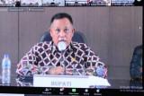Bupati Lampung Selatan ikuti rapat evaluasi pelaksanaan PPKM Mikro