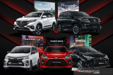 Agya sampai Veloz, Toyota hadirkan lima model GAZOO Racing