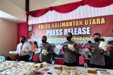 Polda Kaltara Berhasil Amankan 126.606 Gram Sabu Dikendalikan Dari Lapas Bontang