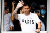 Resmi bergabung, Messi kenakan nomor punggung 30 di PSG