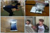 Penyelundupan 148,3 gram sabu asal Malaysia berhasil digagalkan