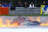 Lorenzo Savadori naik meja operasi setelah kecelakaan di GP Styria