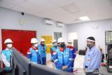 PLN resmi pasok listrik ke blok Rokan, Menteri BUMN lakukan peninjauan