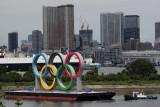 Cincin Olimpiade di Tokyo segera diganti dengan logo Paralimpiade