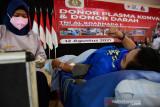 TNI AL di Makassar gelar donor plasma konvalesen bantu pasien COVID-19