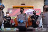 Polrestabes Makassar tangkap tiga pengedar narkotika tembakau gorila