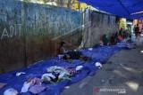 Pengungsi Korban 110 Rumah Hangus Terbakar  Di Makasar