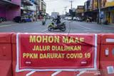 Penyekatan Lima Kecamatan Zona Merah Di Medan