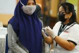 TNI dan Semen Tonasa gelar Serbuan Vaksinasi COVID-19 di Pangkep