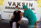 Tim vaksinator di Sangihe layani vaksinasi dosis dua  di setiap kampung