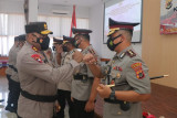 Kapolda Papua pimpin sertijab Karo Ops dengan dua kapolres
