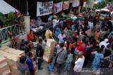 Penyaluran Bantuan Bagi Korban Kebakaran Di Makassar