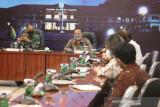 Tim lintas kedeputian KSP audensi di Kodam XVII/Cenderawasih