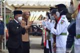 Wali Kota Palu ingatkan Paskibraka profesional jalankan tugas