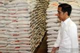 Presiden Jokowi persilakan untuk ekspor beras bila stok dalam negeri cukup