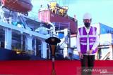 Presiden Joko Widodo lepas ekspor komoditas pertanian dari 17 pintu